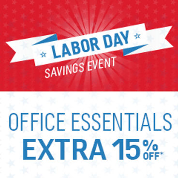 Office Essentials|  Extra 15% off*