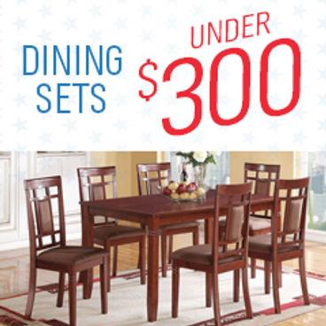 Dining Sets Under $300
