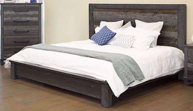 Loft Brown Queen Platform Bed Set