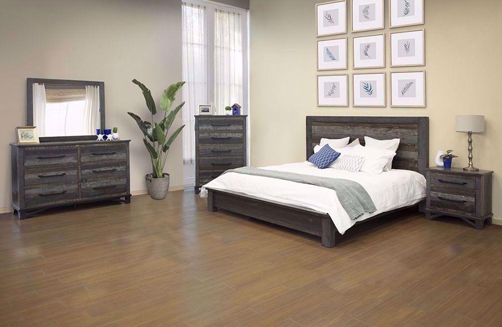 Picture of Loft Brown King Platform Bedroom Set