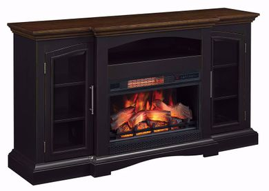 63 Inch Girard Mantel with 26 Inch Fireplace Insert