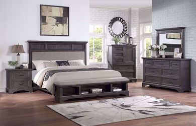 Prescott Queen Storage Bedroom Set