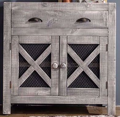 Simon Vila Silver Accent Chest