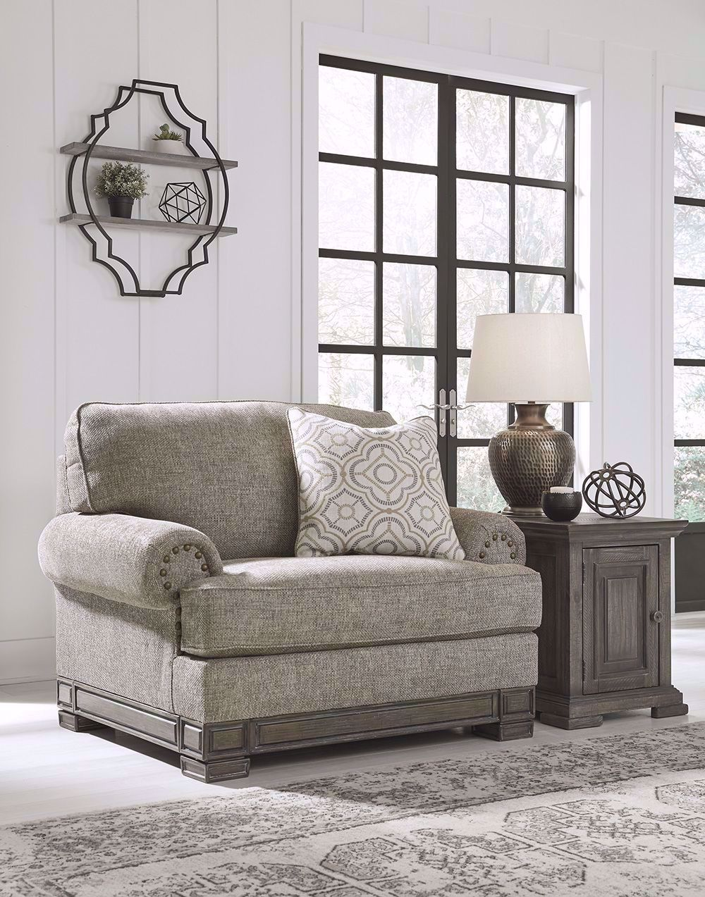 Picture of Einsgrove Sandstone Oversized Chair