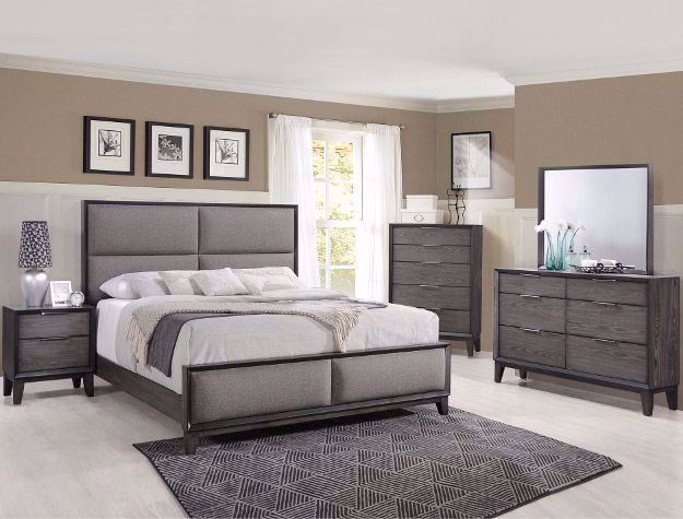 Picture of Florian Gray Queen Bedroom Set