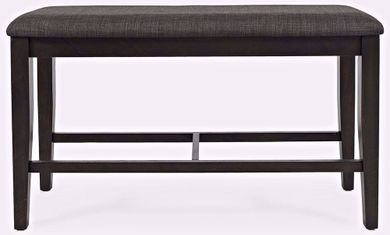 American Rustics Upholstered Backless Counter Bench