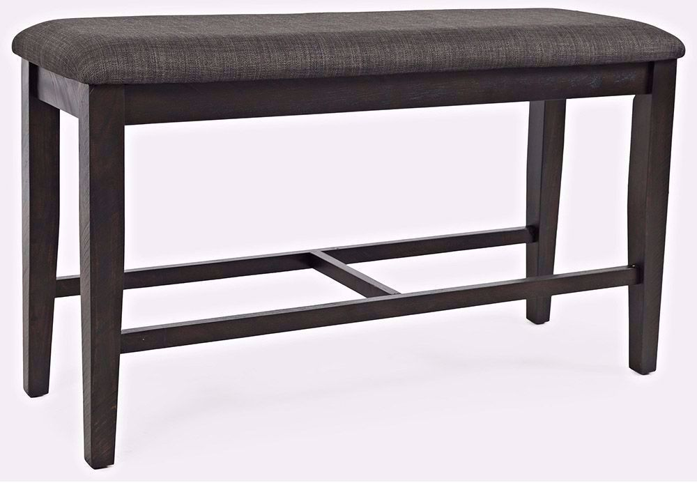 Picture of American Rustics Upholstered Backless Counter Bench