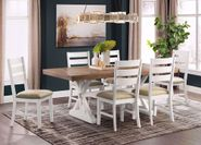 Park Creek Rectangular Dining Table with Six Chairs