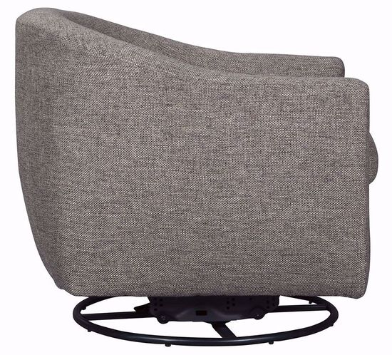 Picture of Upshur Taupe Swivel Glider