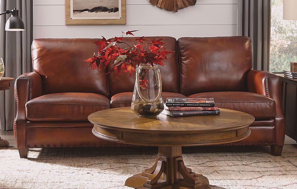 Picture of Maxfield Leather Sofa