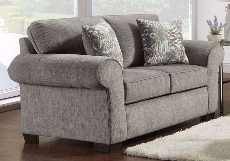 Picture of Marcey Nickel Loveseat