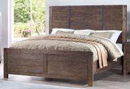 Galleon Walnut Queen Bed Set