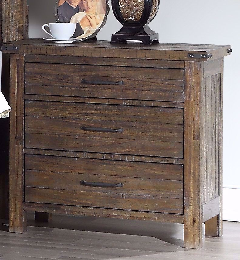 Picture of Galleon Walnut Nightstand