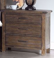 Galleon Walnut Nightstand