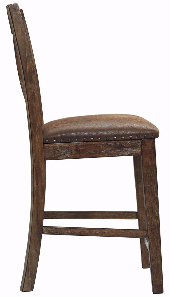 Picture of Chaleny Upholstered X-Back Stool