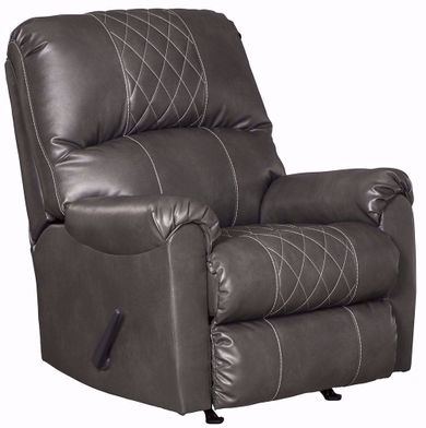 Betrillo Grey Rocker Recliner