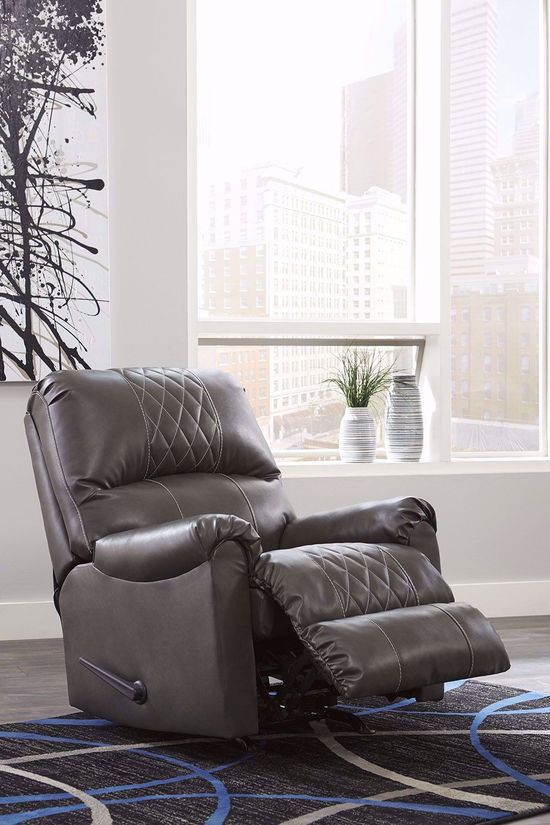 Picture of Betrillo Grey Rocker Recliner