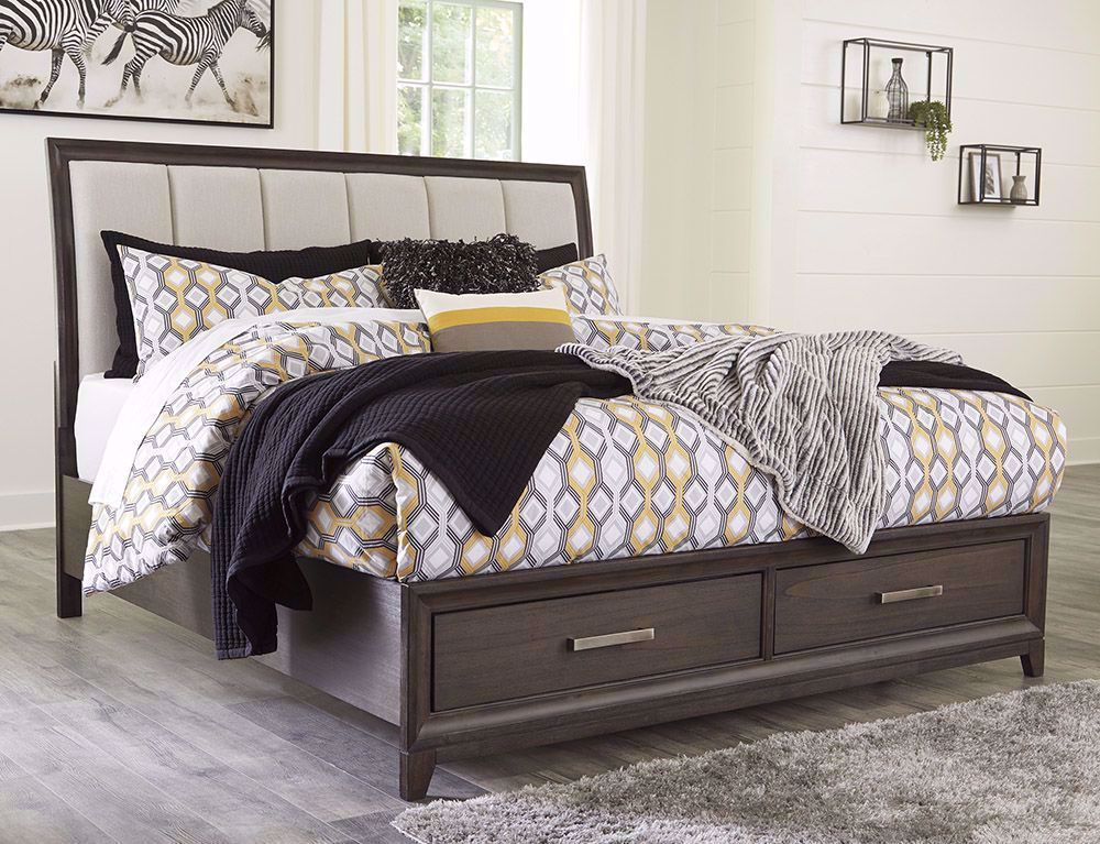 Picture of Brueban King Storage Bed Set