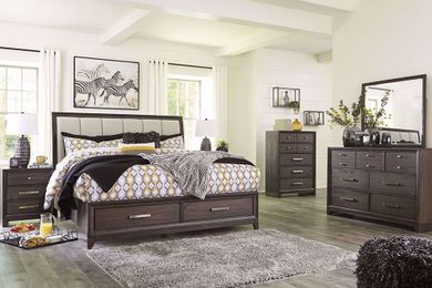 Brueban Queen Storage Bedroom Set
