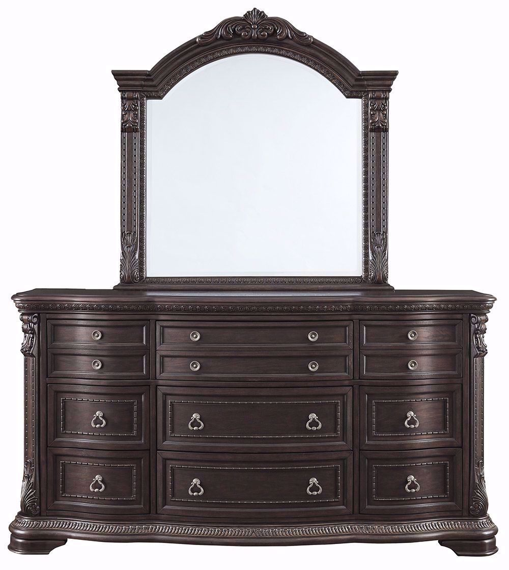 Picture of Wellsbrook Dresser and Mirror