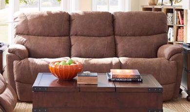 Trouper Whiskey Reclining Sofa