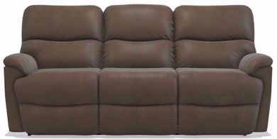 Trouper Mink Power Reclining Sofa