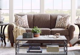 Bennett Mocha Power Reclining Sofa