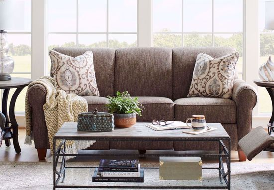 Picture of Bennett Mocha Power Reclining Sofa
