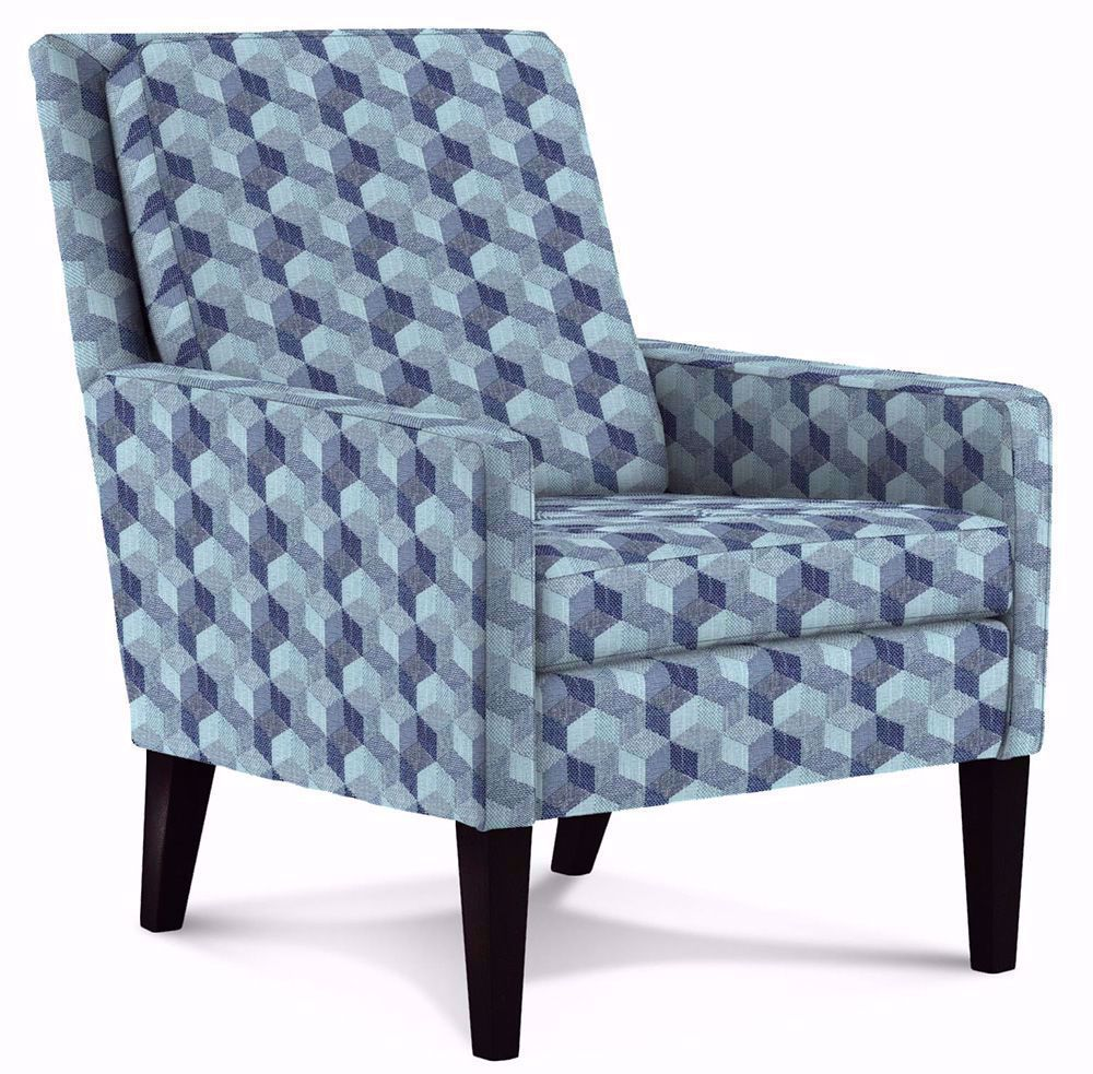 Picture of Leigha Indigo Accent Chair