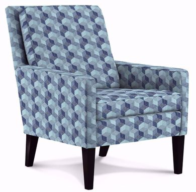 Leigha Indigo Accent Chair