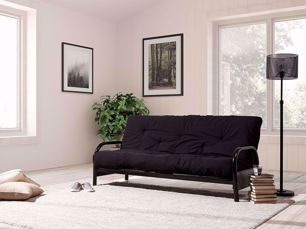 Picture of Eight Inch Black Futon Mattress