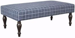 Tualatin Denim Accent Ottoman