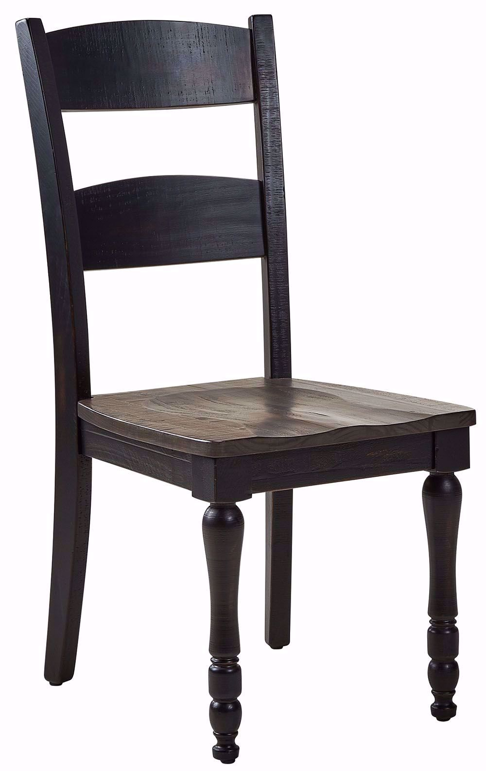 Picture of Madison Black Ladderback Chair