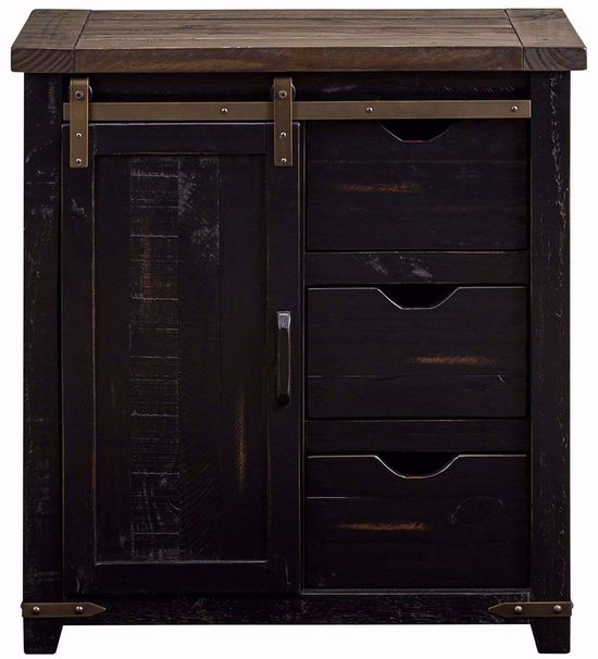 Picture of Madison 32 Inch Black Accent Cabinet