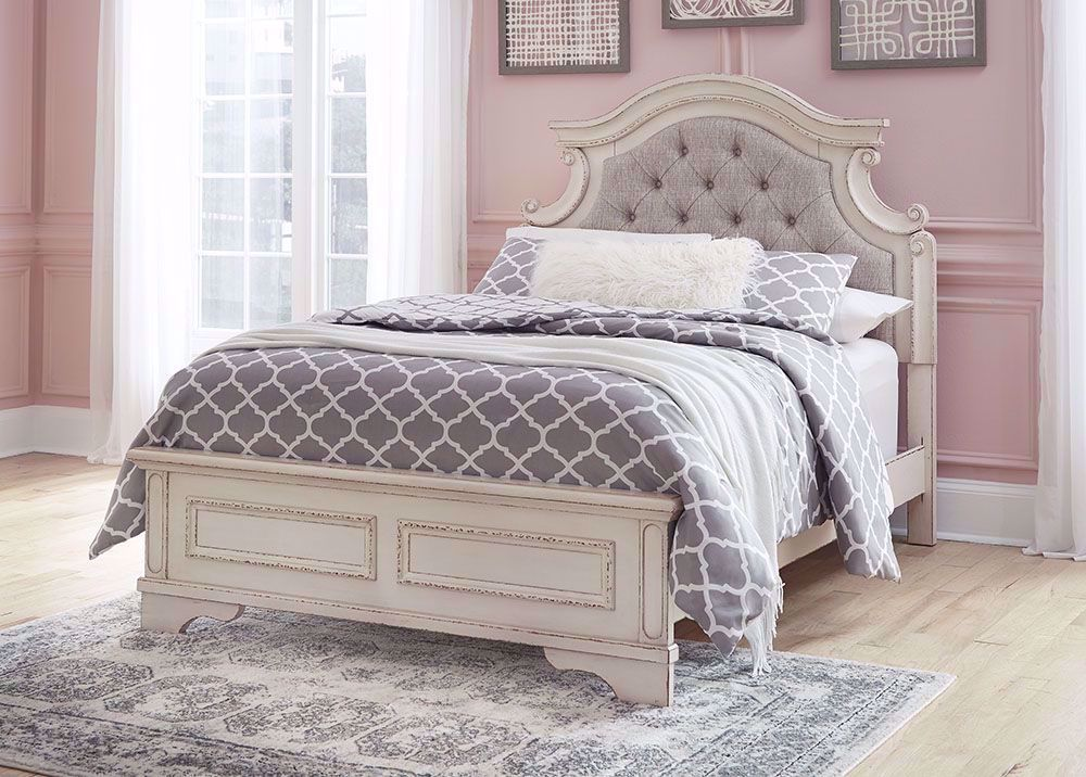 Picture of Realyn Full Panel Bed Set