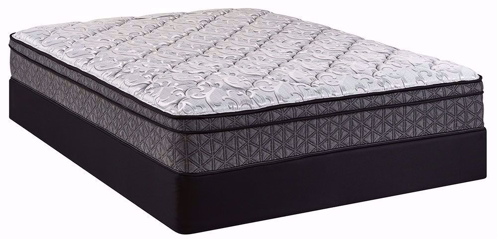Picture of Restonic Cuddle Euro Top Full Mattress Set
