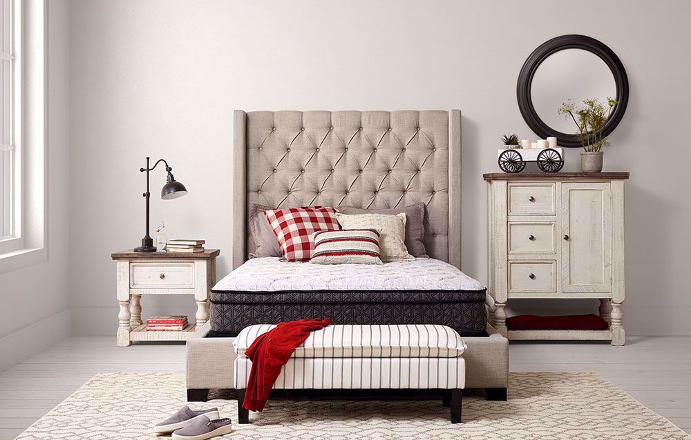 Picture of Restonic Cuddle Euro Top Queen Mattress