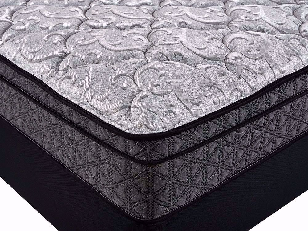 Picture of Restonic Cuddle Euro Top Queen Mattress Set