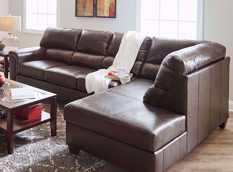 Picture of Soft Touch Bark Two Piece Sectional