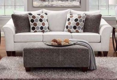 Anna Silver Sofa