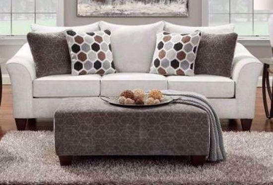 Picture of Anna Silver Sofa