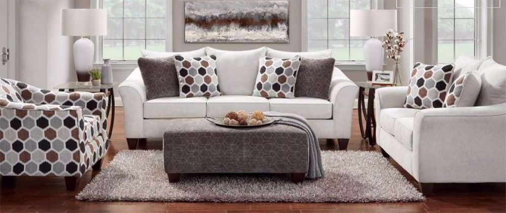 Picture of Anna Silver Loveseat