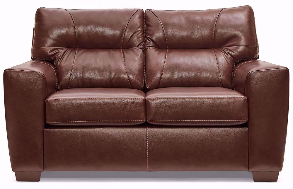 Picture of Soft Touch Chestnut Loveseat