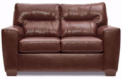 Soft Touch Chestnut Loveseat