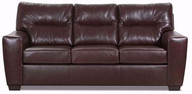 Soft Touch Chestnut Sofa