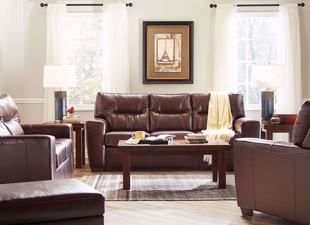 Picture of Soft Touch Chestnut Sofa