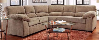 Haven Mineral Two Piece Sectional and Recliner Set