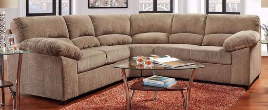 Picture of Haven Mineral Two Piece Sectional and Recliner Set
