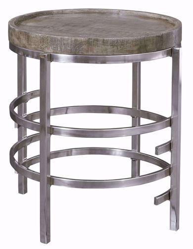 Zinelli Grey Round End Table