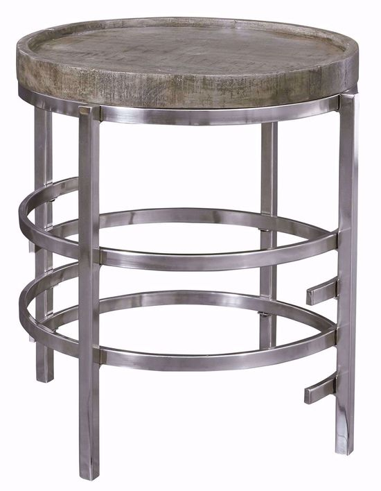Picture of Zinelli Grey Round End Table